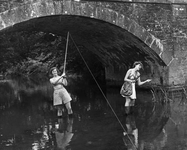 Sport Fishing Photograph - Trout Fishing by Reg Speller