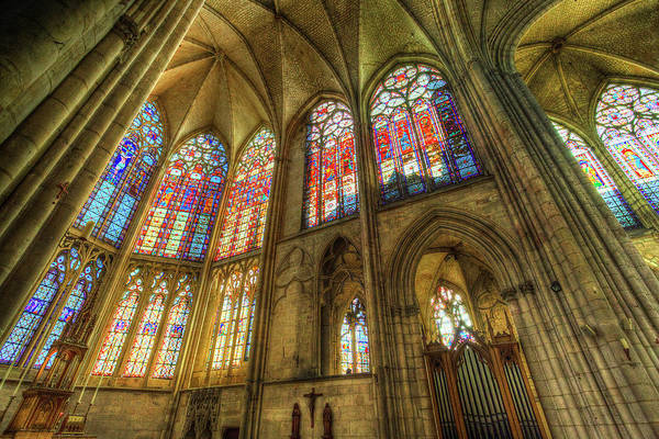 Wall Art - Photograph - Troyes Cathedral by David Pyatt