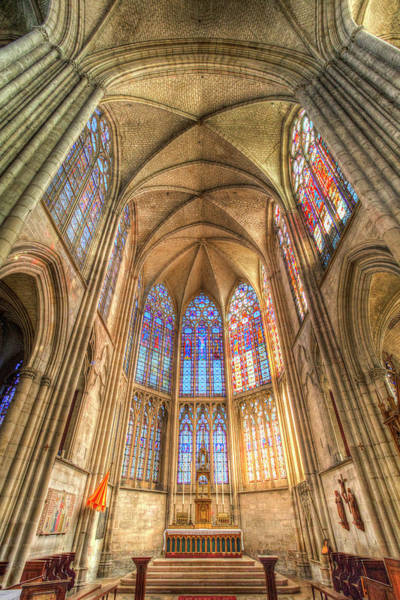 Wall Art - Photograph - Troyes Cathedral France Architecture by David Pyatt