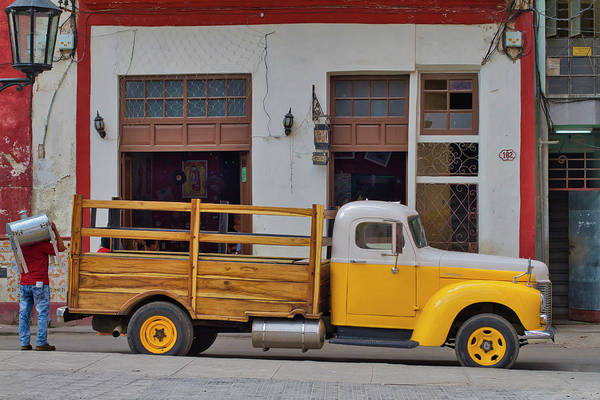 Photograph - Truck, Cuban And Cooker by Paul Rebmann