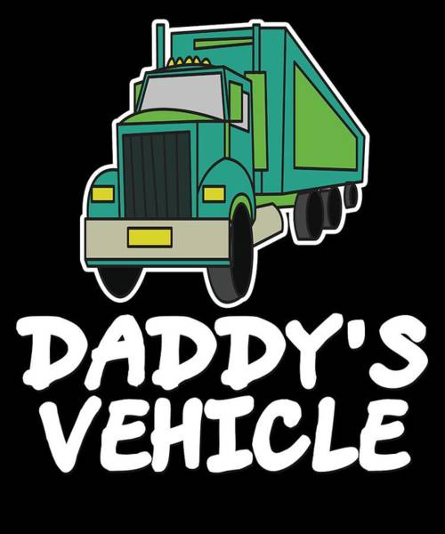 Moustache Mixed Media - Trucker Truck Driver 1 Highway Drive Transport Driver Lkw Funny Tshirt by Roland Andres