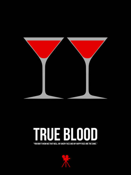 Wall Art - Digital Art - True Blood by Naxart Studio