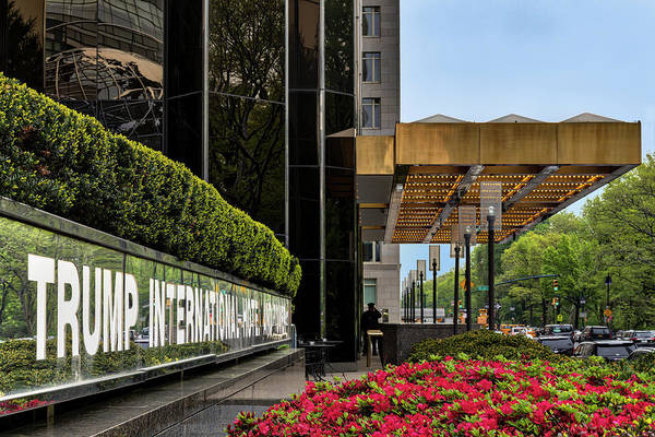 Photograph - Trump International Hotel by Susan Candelario