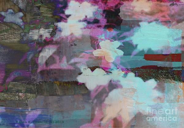 Wall Art - Digital Art - Trumpet Of Spring by Karen Francis