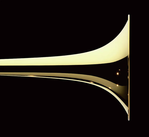 Wall Art - Photograph - Trumpet by Plainview