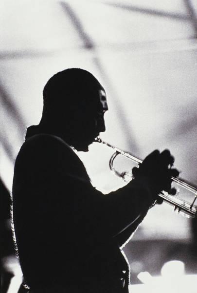 Practice Photograph - Trumpet Player by Giuseppe Ceschi