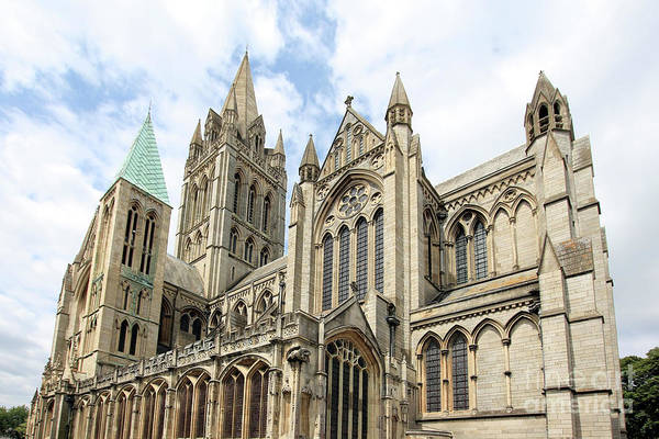 Wall Art - Photograph - Truro Cathedral From St Mary's Street by Terri Waters