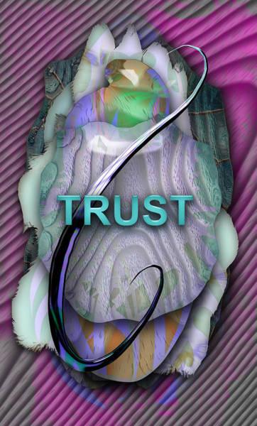Wall Art - Mixed Media - Trust by Marvin Blaine
