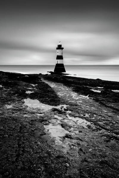 Wall Art - Photograph - Trwyn Du Lighthouse 2 by Dave Bowman