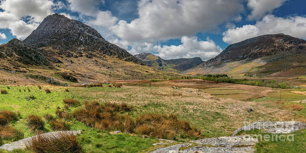 Wall Art - Photograph - Tryfan And The Ogwen Valley Snowdonia  by Adrian Evans