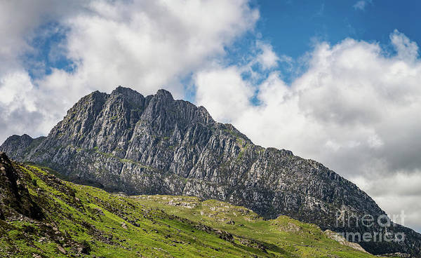 Wall Art - Photograph - Tryfan Mountain East Face Snowdonia by Adrian Evans