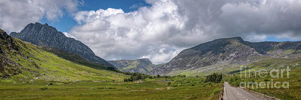 Wall Art - Photograph - Tryfan Mountain East Face Wales by Adrian Evans