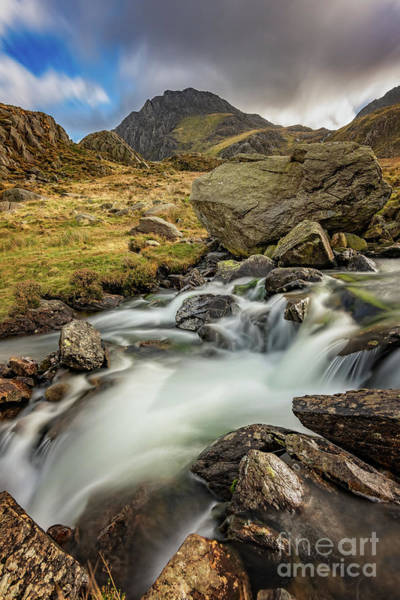 Wall Art - Photograph - Tryfan Mountain North Wales by Adrian Evans
