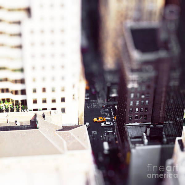Dramatic Wall Art - Photograph - Ts Makes It Look Like A Toy City by Achtin