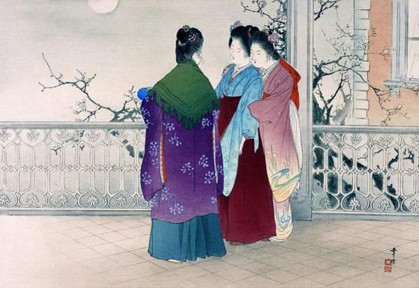 Fete Wall Art - Painting - Tsukinunagori - Top Quality Image Edition by Mizuno Toshikata