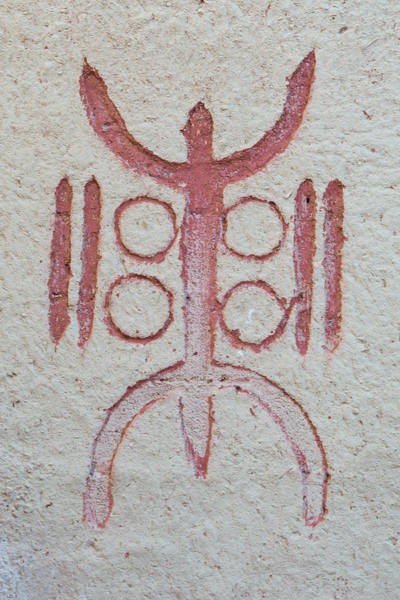 Berber Wall Art - Photograph - Tthe Zed Amazigh, A Symbol Of A Free Man by Paolo Negri