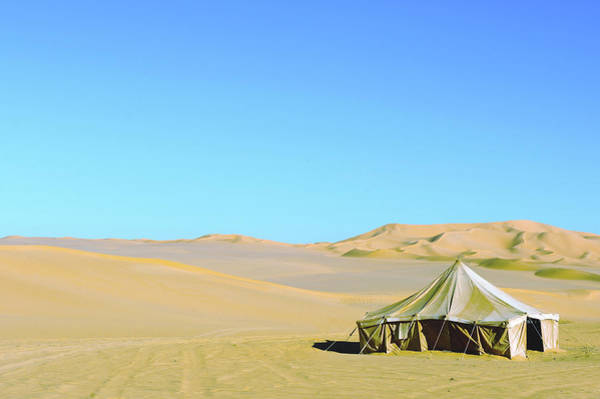 Tent Photograph - Tuareg Tent At The Libya Desert by Rafa Llano Instantaneas
