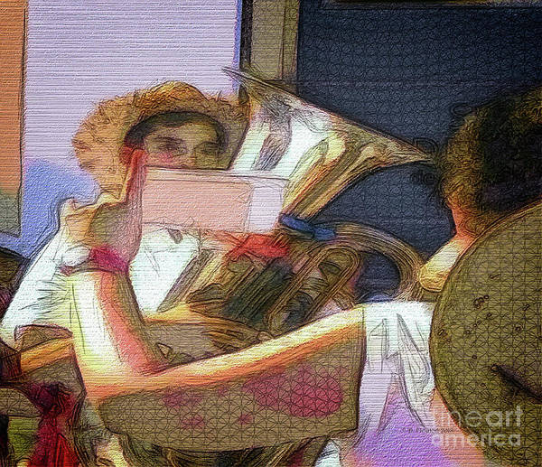 Digital Art - Tuba At San Miguel by Dee Flouton