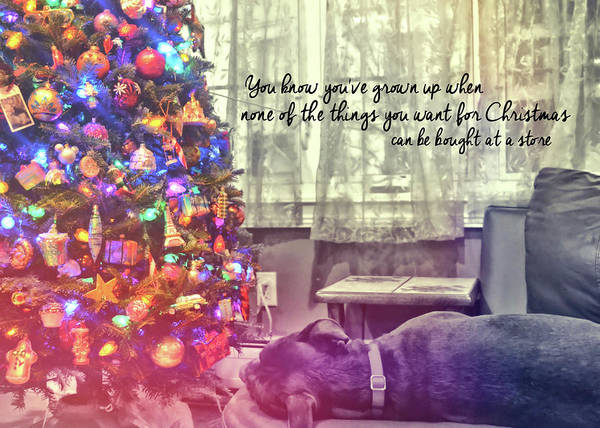 Photograph - Tuckered Out Quote by JAMART Photography