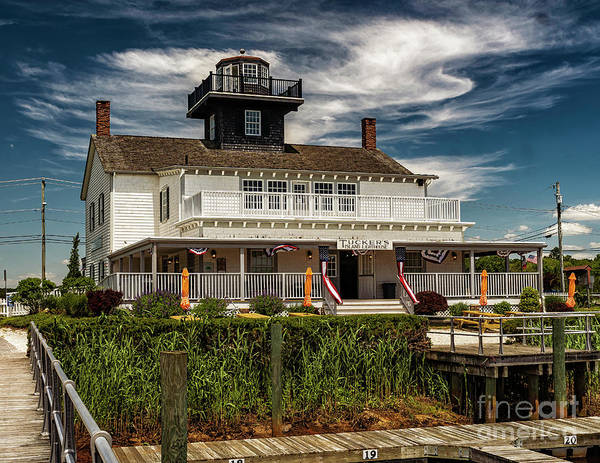 Photograph - Tuckers Island Replica Lighthouse by Nick Zelinsky