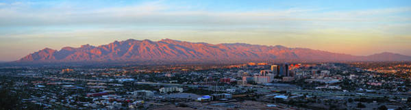 Sentinel Photograph - Tucson At Last Light by Chance Kafka