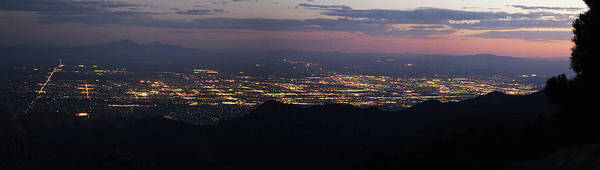 Photograph - Tucson From Mount Lemmon by Chance Kafka