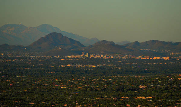 Photograph - Tucson Skyline At Sunrise by Chance Kafka