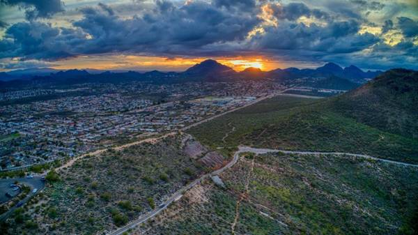 Photograph - Tucson Sunset by Ants Drone Photography