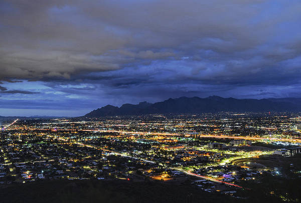 Photograph - Tucson Twilight by Chance Kafka