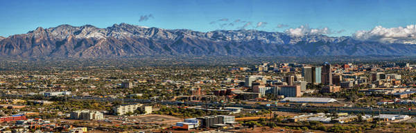 Photograph - Tucson Winter Panorama by Chance Kafka