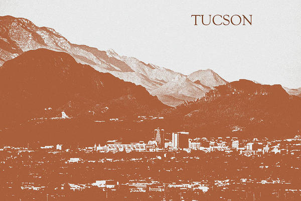 Photograph - Tucson's Rusty Skyline by Chance Kafka