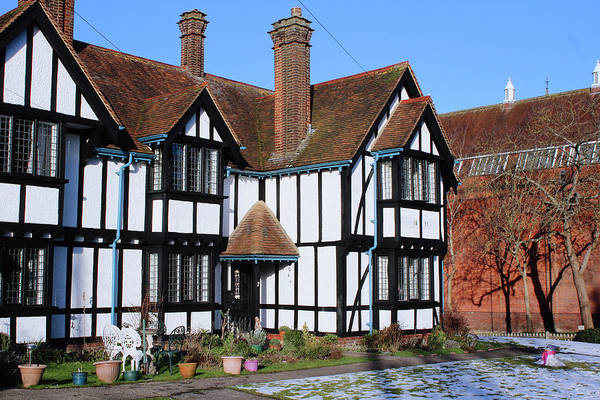 Photograph - Tudor House  by Doc Braham