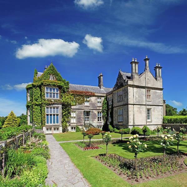 Tudor Photograph - Tudor Style Mansion In Ireland by Mammuth
