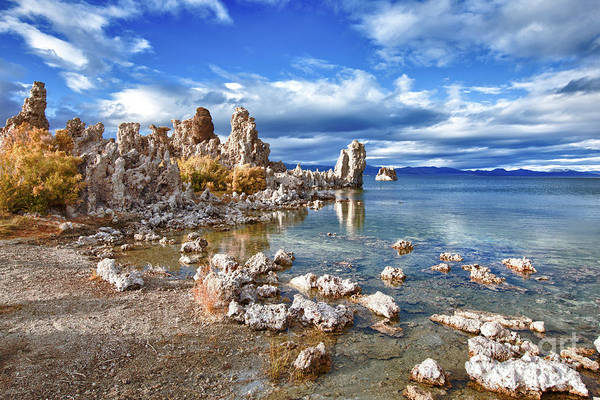Lakeshore Photograph - Tufas Along South Shore by Mimi Ditchie Photography