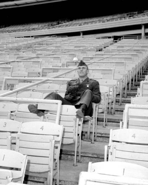 New York Mets Photograph - Tug Mcgraw, A Marine Reservist Now by New York Daily News Archive
