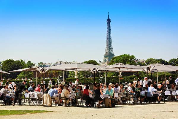 Jardin Des Tuileries Photograph - Tuileries Garden In Paris by Bruno De Hogues
