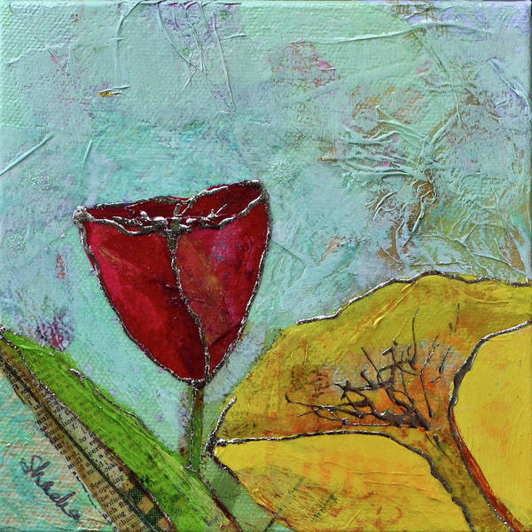 Wall Art - Painting - Tulip Festival V by Shadia Derbyshire