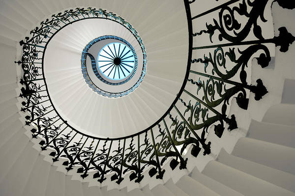 Queen Photograph - Tulip Stairs by Anna Gett Photography