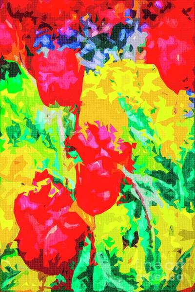 Photograph - Tulips by Nigel Dudson