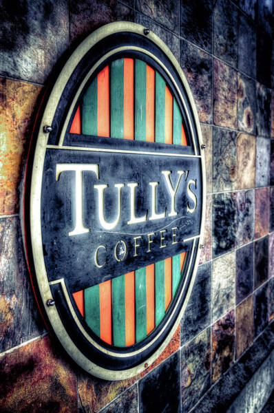 Wall Art - Photograph - Tullys Coffee by Spencer McDonald