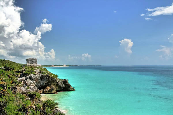Mayan Wall Art - Photograph - Tulum by Pola Damonte Via Getty Images