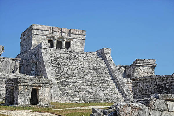Photograph - Tulum Ruins Tulum Mexico by Toby McGuire