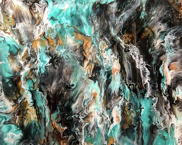 Painting - Tumultuous By Teresa Wilson by Teresa Wilson
