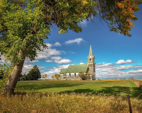 Photograph - Tunbridge Luthern Church by Harriet Feagin
