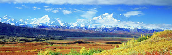 Wall Art - Photograph - Tundra Alaska Range Mount Mckinley by Panoramic Images