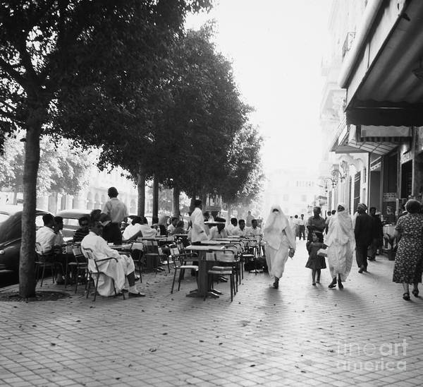 Photograph - Tunis Street Scene by Granger