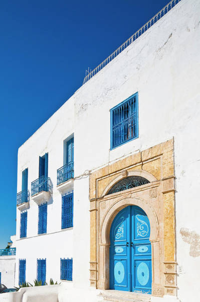 Tunisia Wall Art - Photograph - Tunisia, Sidi Bou Said, Traditional by Maisant Ludovic / Hemis.fr