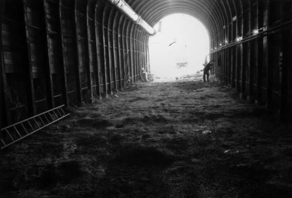 1974 Photograph - Tunnel Construction by David Ashdown