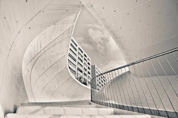 Benidorm Wall Art - Photograph - Tunnel Stairways,benidorm by Ramonescu Photography