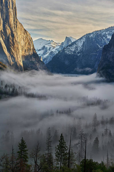 Photograph - Tunnel View At Dawn by Jon Glaser